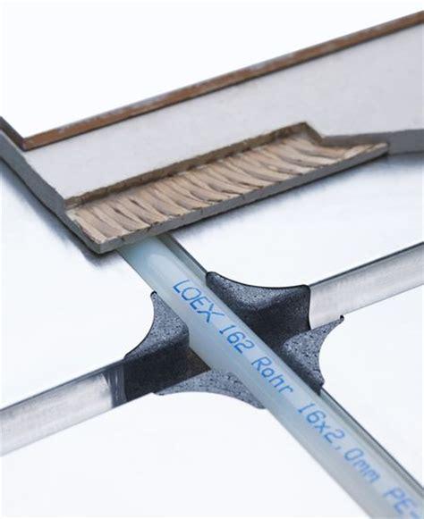 pavimento radiante a secco loex home sistema radiante a bassa inerzia termica