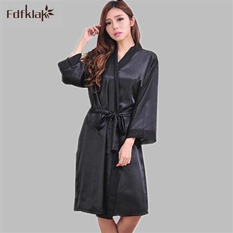 popular black satin dressing gown buy cheap black satin popular black silk robes buy cheap black silk robes lots