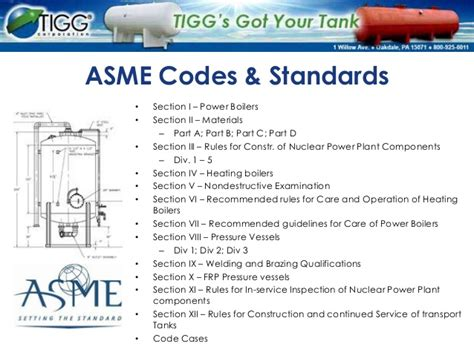 asme sections manufacturing pressure vessels to asme code
