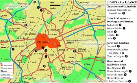 brussels map greater brussels metropolitan area free to