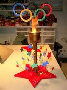 olympic themed banquet on decoration