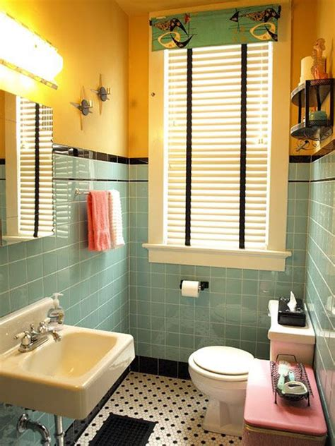 wallboard for bathrooms kristen and paul s 1940s style aqua and black tile