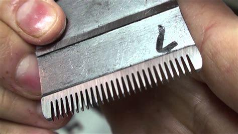 professional blade sharpening professional clipper blade sharpening