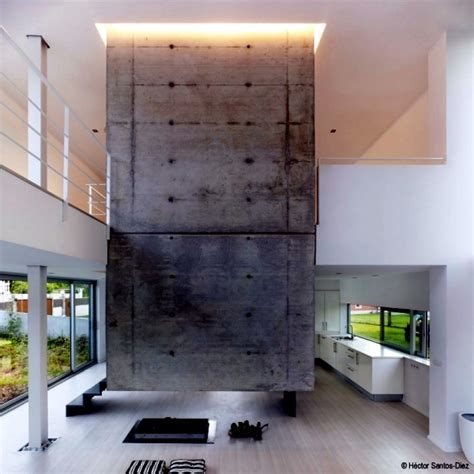 Unique House Floor Plans Modern House In Spain Spacious Rooms And High Ceilings