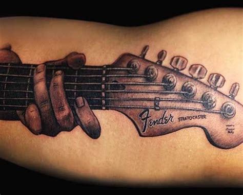 tattoo guitar body be cool music tattoos and guitar on pinterest