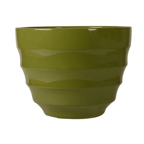 home depot large planters glazed planters pots planters garden center the home depot