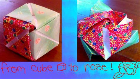Origami Magic Cube - origami magic cube by puffugu on deviantart