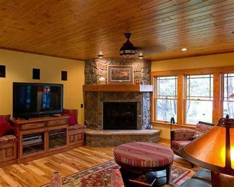 corner stone fireplace family room traditional with none family room corner fireplace basement design basement
