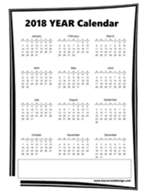 Printable 2016 2017 2017 Year At A View Glance Calendar