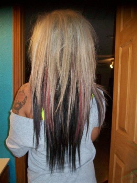 pictures of hair underneath 25 best ideas about blonde to burgundy on pinterest