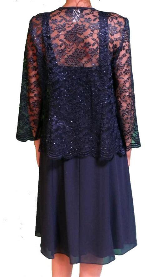 Blazer Lace Maroon navy blue burgundy of the dress plus size 2017 chiffon with lace jacket tea length