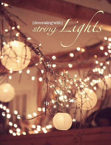Decorative String Lights For Bedroom Home Interior Decorate With String Lights