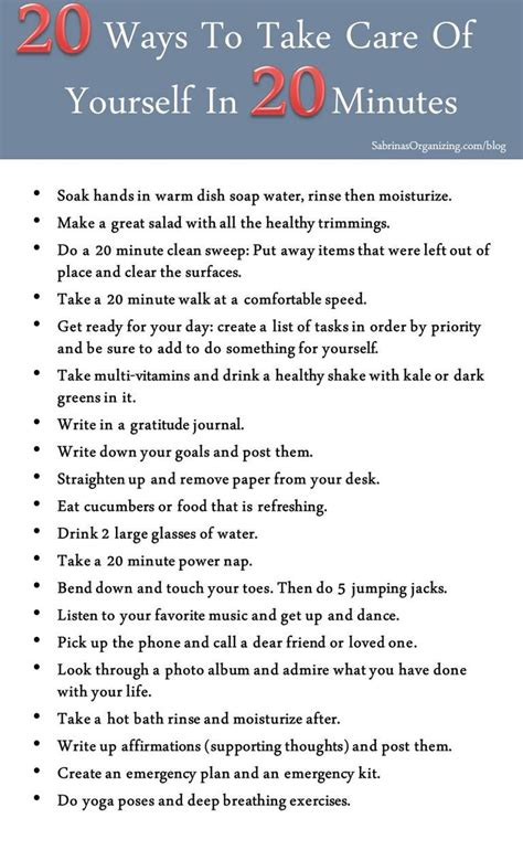 9 Ways To Take Better Care Of Your Shoes by 20 Ways To Take Care Of Yourself In 20 Minutes Coping