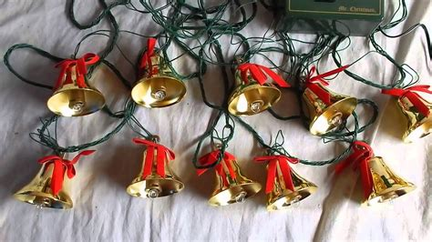 bells of christmas musical lighted tree ornaments youtube