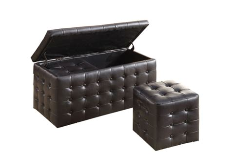 black storage ottoman bench black tufted storage ottoman bench