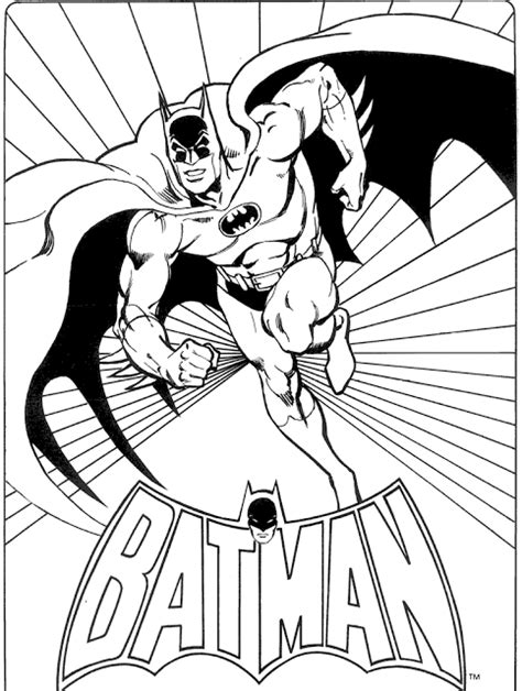 transmissionpress: Batman Super Hero Cartoon Coloring Pages