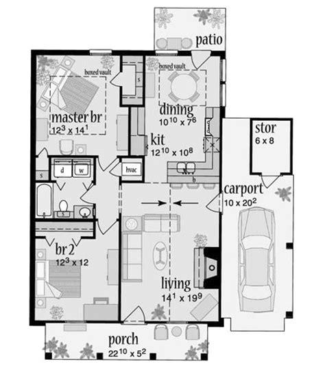 Garage Plans With Loft Apartment by Plano De Casa Estilo Colonial