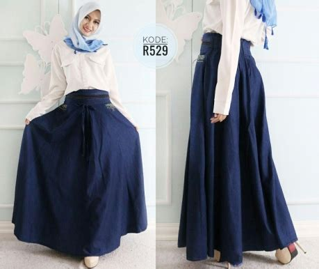 Overall Rok Payung W196 rok payung list premium r529 baju style ootd