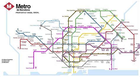 barcelona metro map barcelona metro map