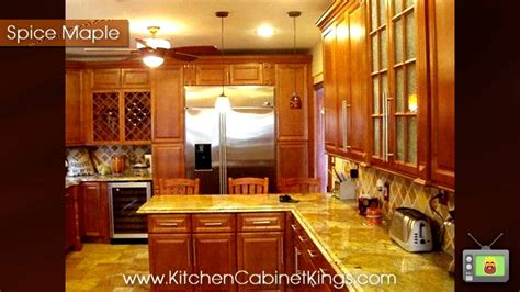 king kitchen cabinets spice maple kitchen cabinets by kitchen cabinet kings