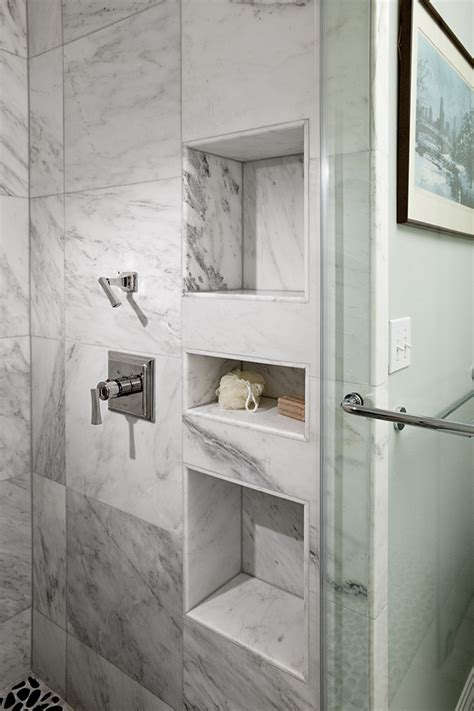bathroom alcove shelves shower niches quot functional and do not interrupt the flow