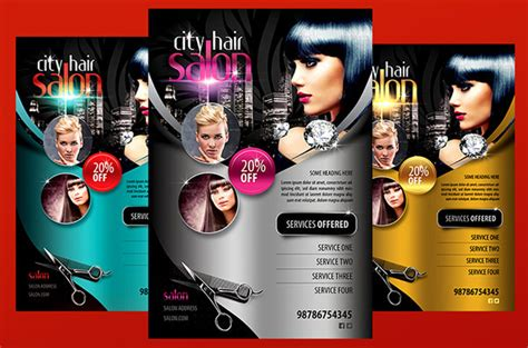 71 Beauty Salon Flyer Templates Free Psd Eps Ai Illustrator Format Downlaod Free Hair Stylist Flyer Templates