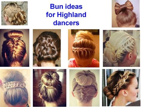 Hairstyles For Dancers by Bun Hairstyle Ideas For Highland Dancers Bun Heads