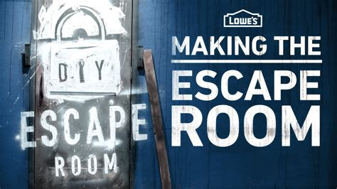 the make room making the diy escape room behind the scenes youtube