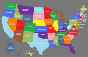 us map of all the states new u s map assigns that represent each state