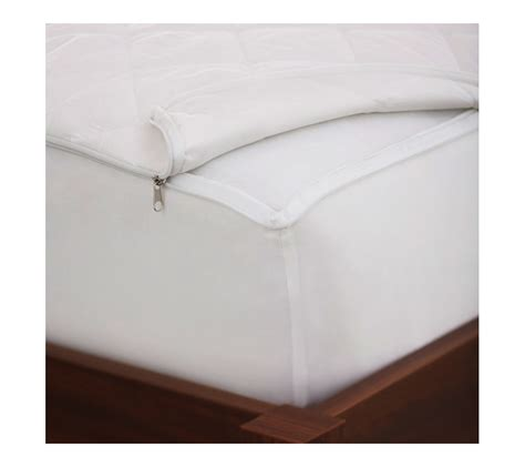 zipper beds amazon com pinzon permaloft zip off waterproof mattress
