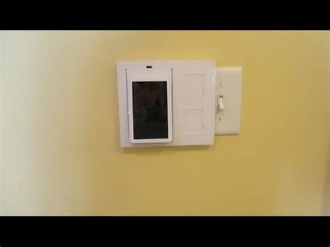 wink compatible light switch wink relay on a 3 4 box homeautomation