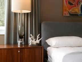 brown bedroom orange