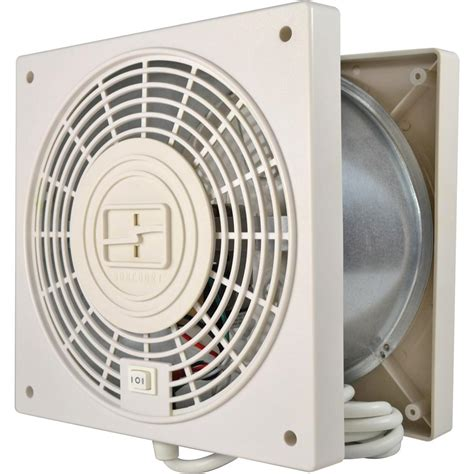 fans to circulate heat thruwall through the wall 2 speed with airflow adapter