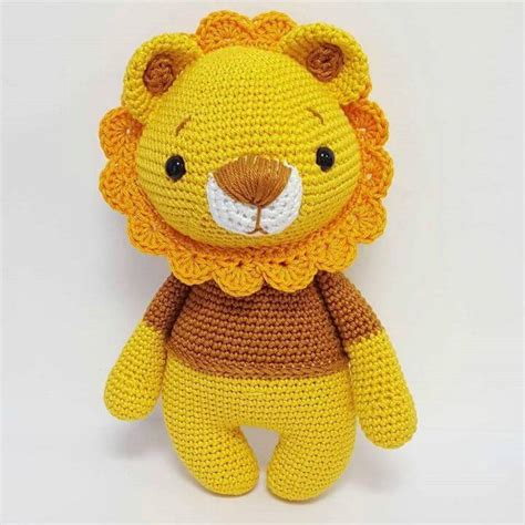 amigurumi lion crochet amigurumi patterns best free diy projects