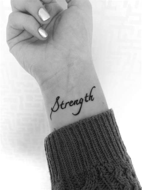 tattoo quotes about strength tumblr tumblr tattoos tattoo tattoos wrist awesome ink