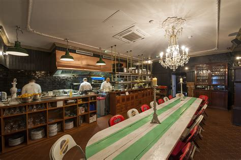 Great Eastern Dining Room Shoreditch by Casa Negra Shoreditch Wfc Contractors