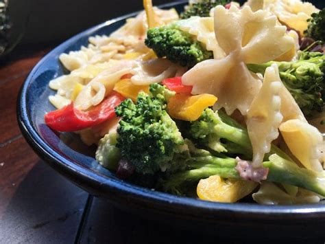 recipes for pasta salad broccoli pasta salad recipe for an easy lunch