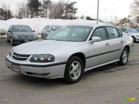 impala silver 2001 galaxy silver metallic chevrolet impala ls 45281598