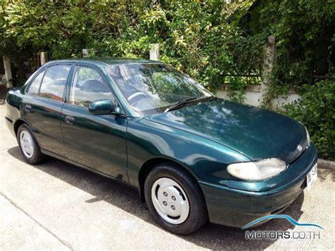hyundai th hyundai accent 1996 motors co th