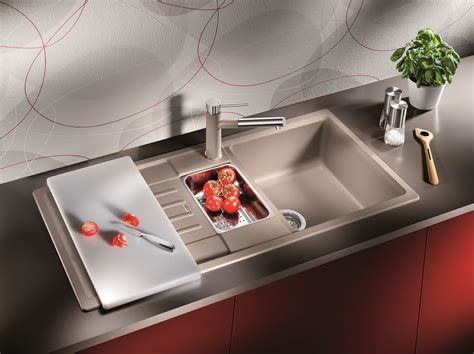 Decorating: Brilliant Blanco Sinks For Kitchen Furniture