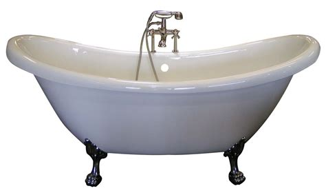 old style bathtubs stylish white oval bathtub with chrome clawfoot also