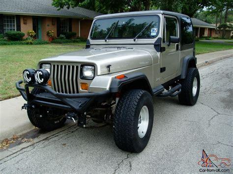Value Of 1989 Jeep Wrangler 1989 Yj Jeep Wrangler