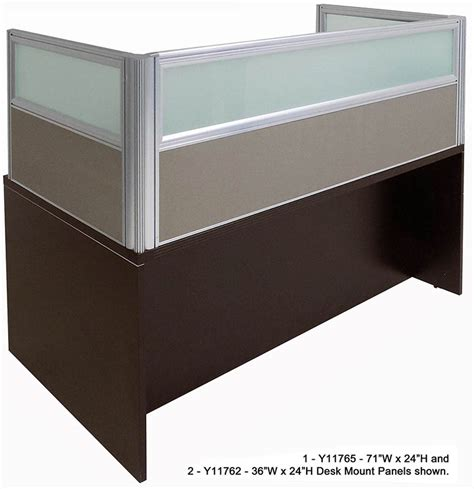 office desk privacy panel office in a box desk with