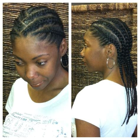 Simple Cornrow Hairstyles by Simple Cornrow Styles For Cornrows For Simple