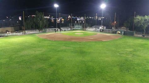 baseball field lighting systems maverick baseball field retrofitted with led lighting