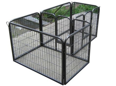 playpens for dogs heavy duty pet playpen for puppy rabbit cage run pen portable folding pen ebay