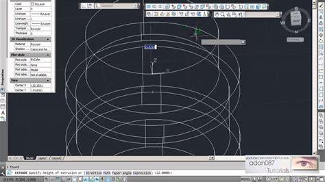 adan087 tutorials autocad 3d drawing 10