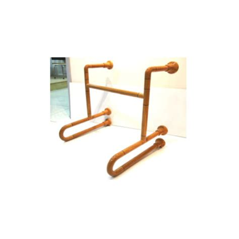 wood pattern grab bar gb900u2sc 55x90g0 k ncosa pattern urinal grab bar 2u