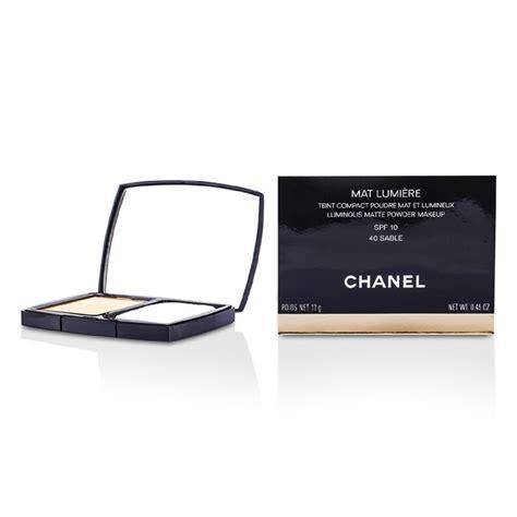 Harga Chanel Mat Lumiere Luminous Matte Powder chanel mat lumiere luminous matte powder makeup spf10