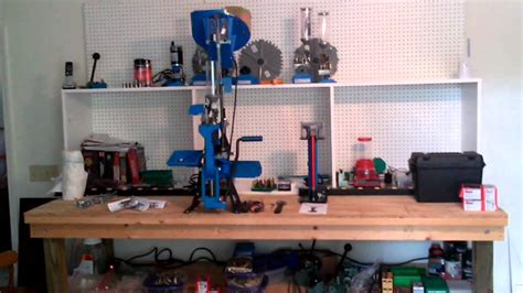 hornady reloading bench my diy reloading bench youtube